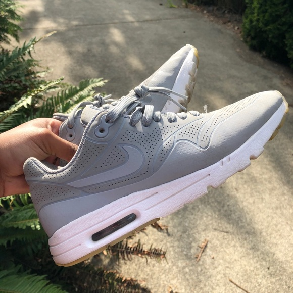 online store 335ca a5410 Nike Shoes | Grey Air Max 1 Ultra Moire Prm W 3m | Poshmark